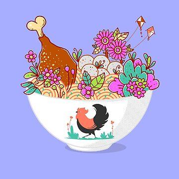 Bakmi Komplit Fantasy by GODZILLARGE