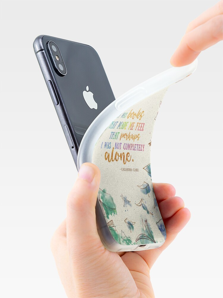 Alternate view of It was books iPhone Case & Cover