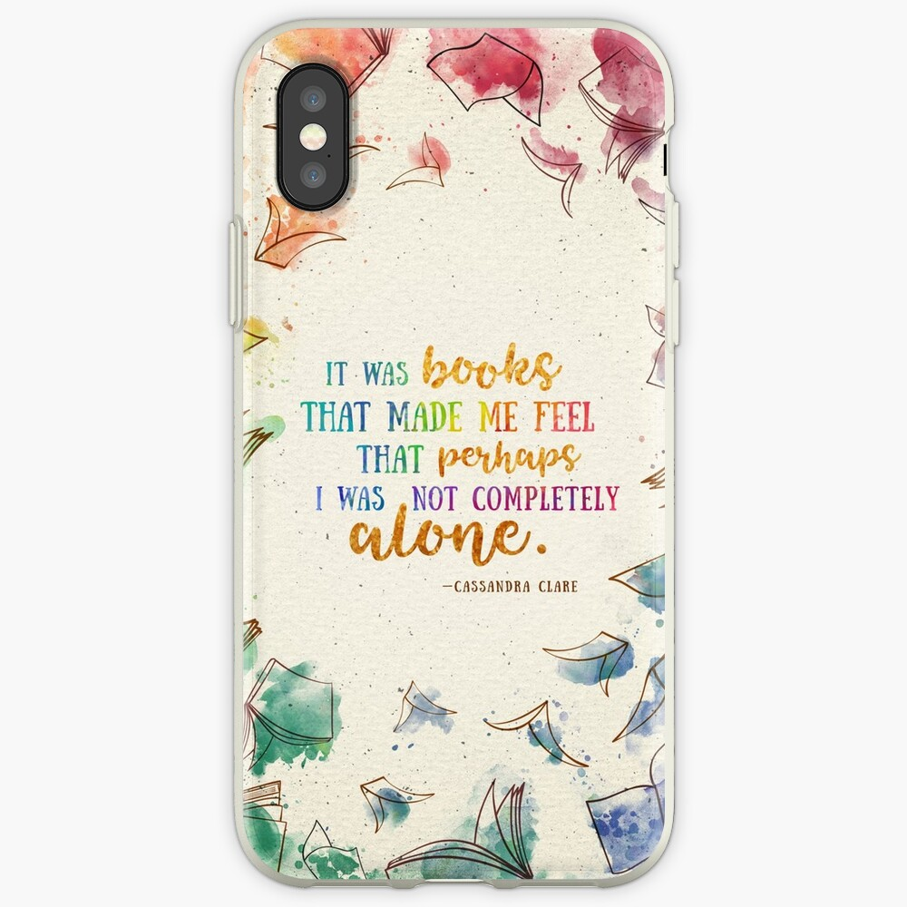 It was books iPhone Case & Cover