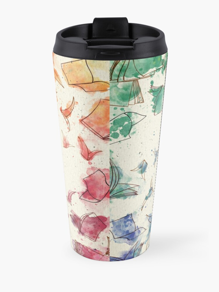 Alternate view of It was books Travel Mug