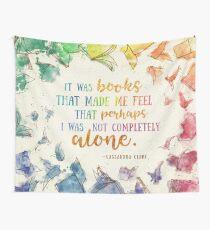 Es waren Bücher Wandbehang