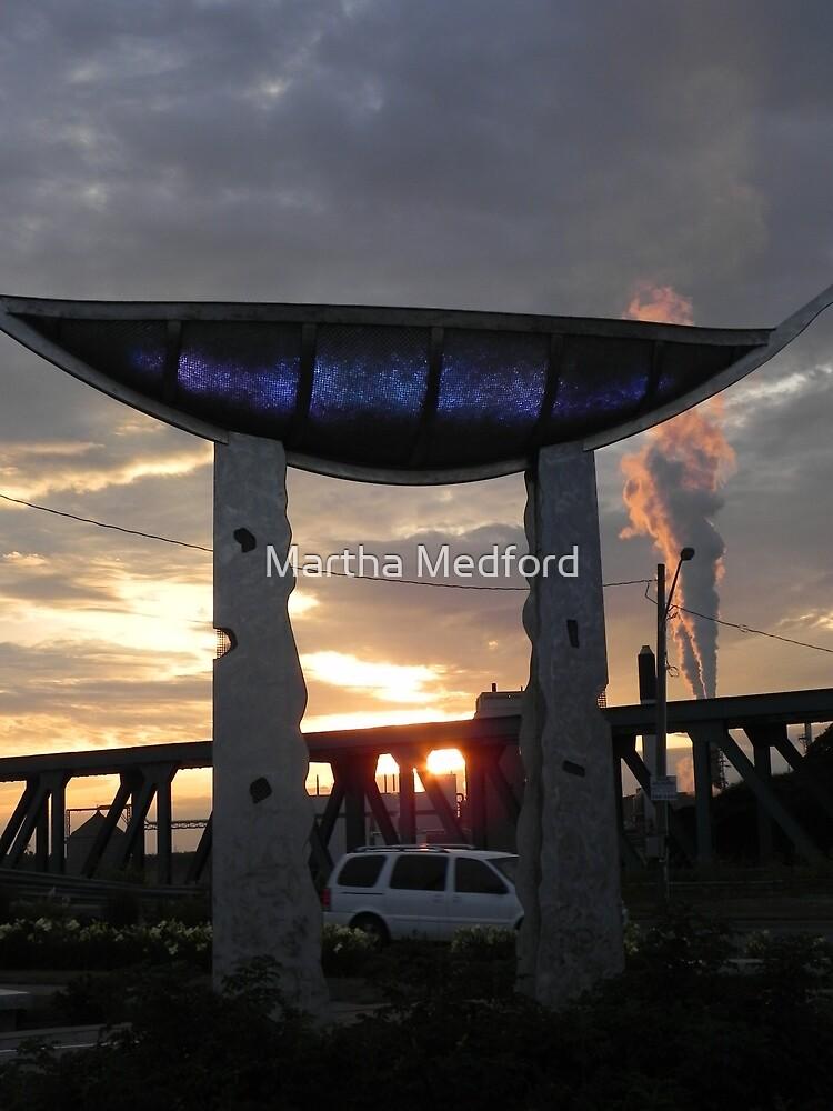 Memory Vessel As The Sun Sets by Martha Medford