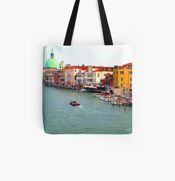 Autumn In Venice All Over Print Tote Bag