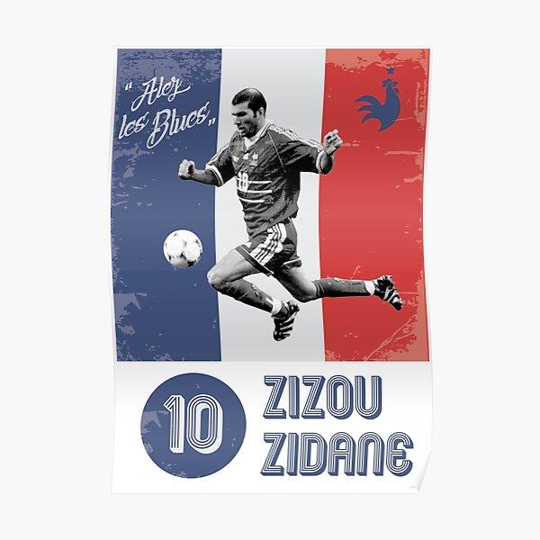 Zizou Zidane Poster