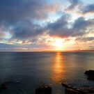 St Ives Bay Sunrise After Storm by mcworldent
