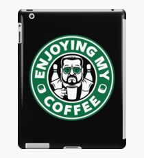 Enjoying My Coffee iPad Case/Skin