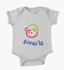 Snails with a twist TEE SHIRT/BABY GROW One Piece - Short Sleeve