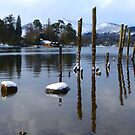 Reflections Of Derwent Water by mcworldent