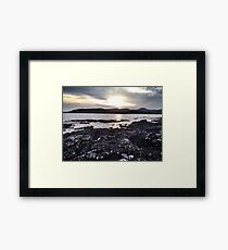 Coastline near Ullinish on the west coast of Skye Framed Print