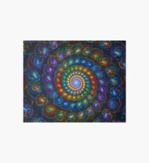 Spiral Shell Beads Art Board