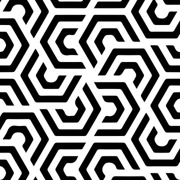 Geometric Pattern  by adelemawhinney