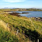 Looking across to the crofting village of Ullinish on the west coast of Skye by Richard Flint