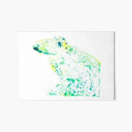 Frog Art Board Print