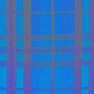 Blue Tartan by MagsArt
