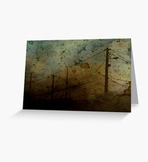 The Skies Grew Darker (It Made Our Hearts Seem Lighter) Greeting Card