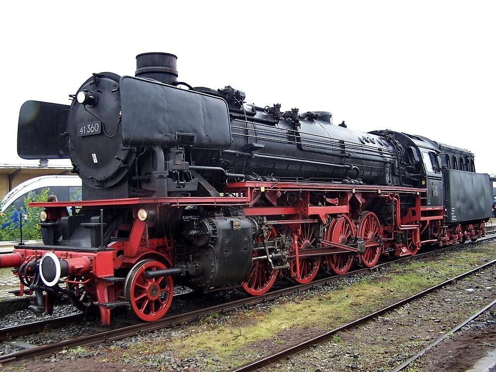 Quot A Steam Locomotive Of German Railways Quot By Trainmaniac