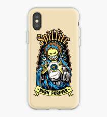 Spitfire Burn Forever iPhone Case