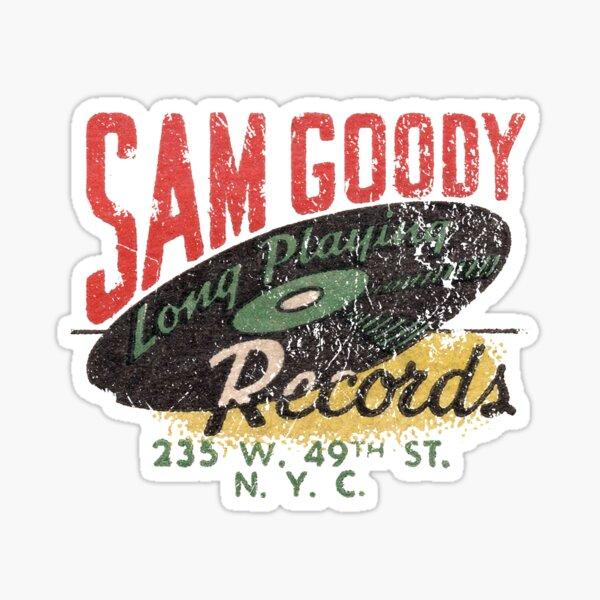 Sam Goody Records Sticker