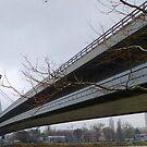 Novy Most, Bratislava - The Ufo Bridge by mcworldent