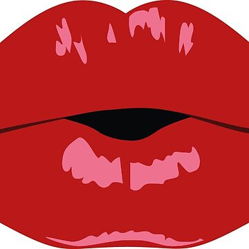 Kissing Lips by EmmeBi-graphic