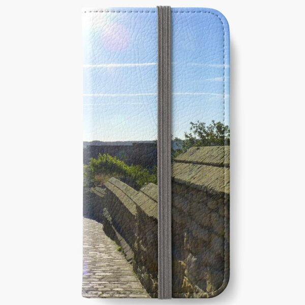 Scarborough Castle - The Road iPhone Wallet
