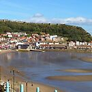 Scarborough, Yorkshire At Low Tide - A Banner Style Image by mcworldent