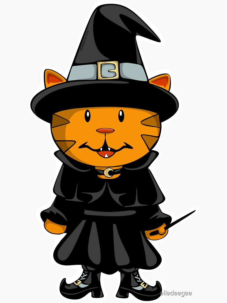 Witch Kitty by elledeegee
