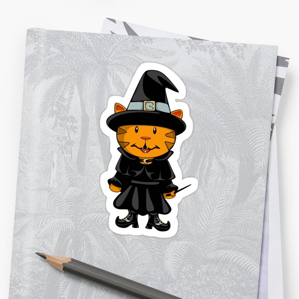 Witch Kitty Sticker