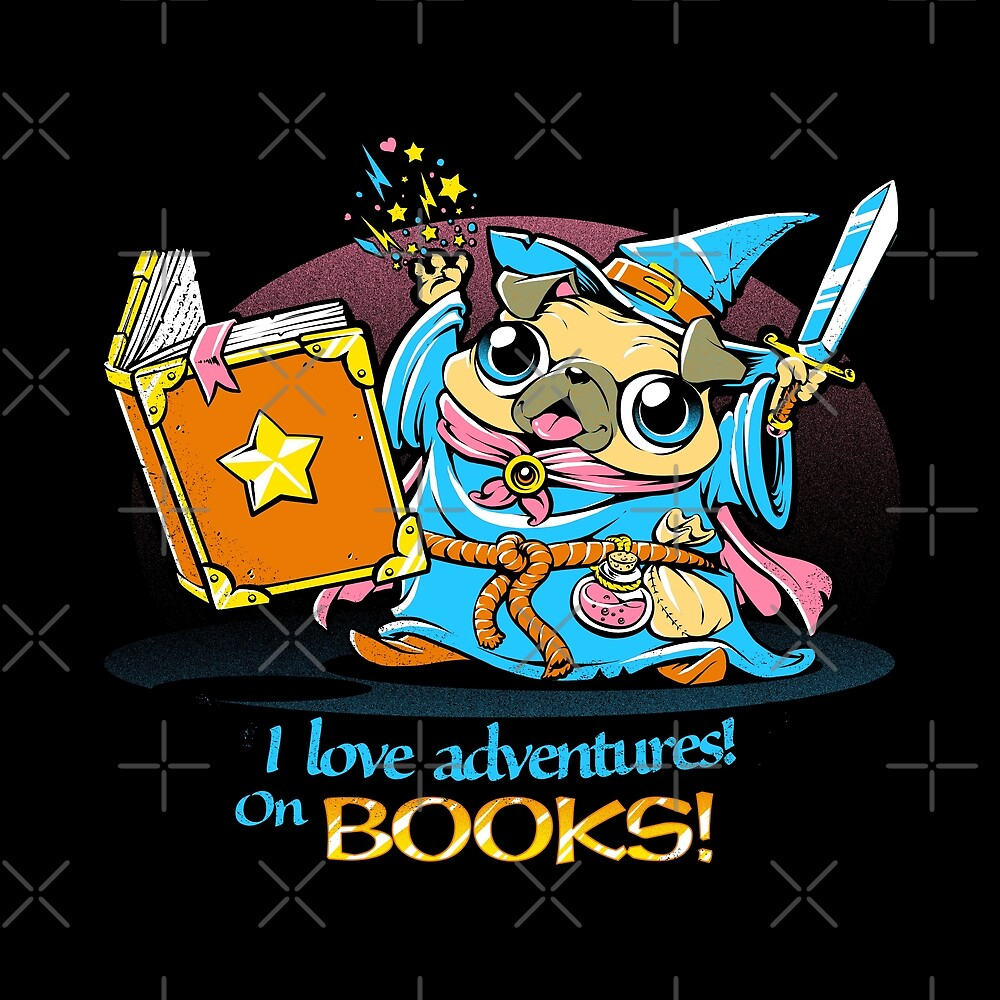 I Love Adventures! On Books by tobiasfonseca