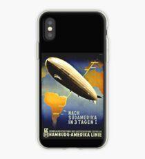 Graf Zeppelin nach Südamerika, 1937 iPhone-Hülle & Cover