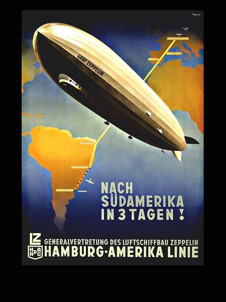 Graf Zeppelin nach Südamerika, 1937 von edsimoneit