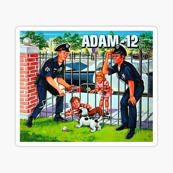 Adam 12 Sticker
