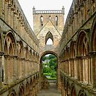 Romanesque And Gothic Arches In Church Architecture by mcworldent