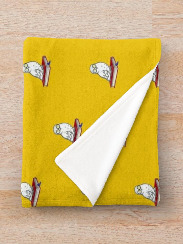 Alternate view of Owl Throw Blanket