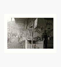 Street Scenes, Guayabitos MX Art Print