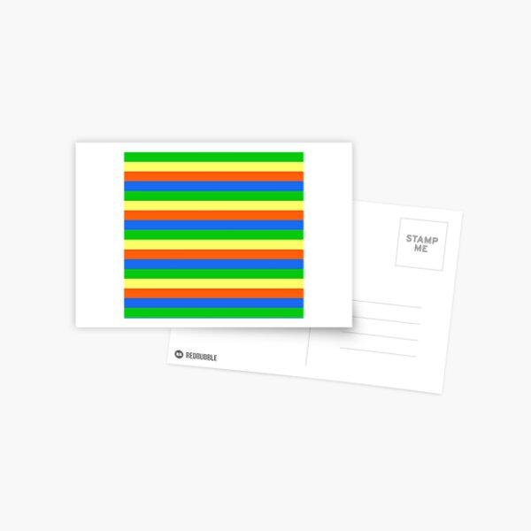 Fruity stripes Postcard