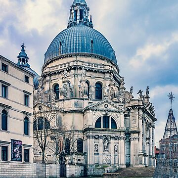 Santa Maria della Salute Church, Venice, Italy by DFLCreative