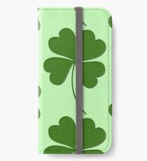 LUCKY CLOVER iPhone Wallet/Case/Skin