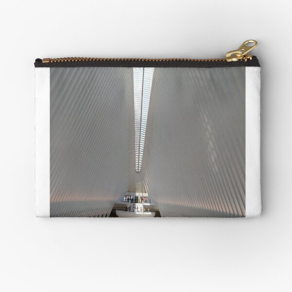 #Port, #crane, #ship, #industry, #sea, #cargo, #harbor, #dock, #shipping, #industrial, #night, #container, #water, #transportation, #transport, #cranes, #boat, #sky, #harbour, #nightlight, #reflection Zipper Pouch