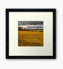 Dreamy french farm house Framed Print