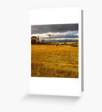 Dreamy french farm house Greeting Card