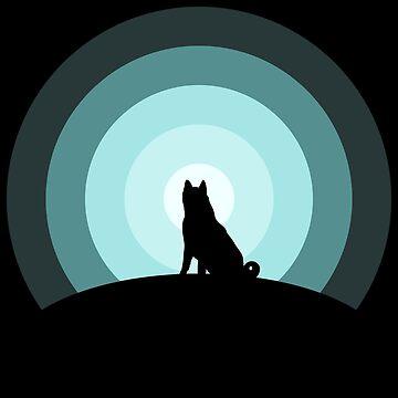 Moonlight Dog by Mahkor