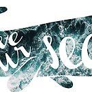 save our seas - ocean whale by Sam Palahnuk