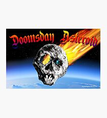 Doomsday Asteroid Photographic Print