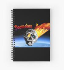 Doomsday Asteroid Spiral Notebook