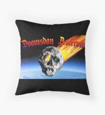 Doomsday Asteroid Throw Pillow