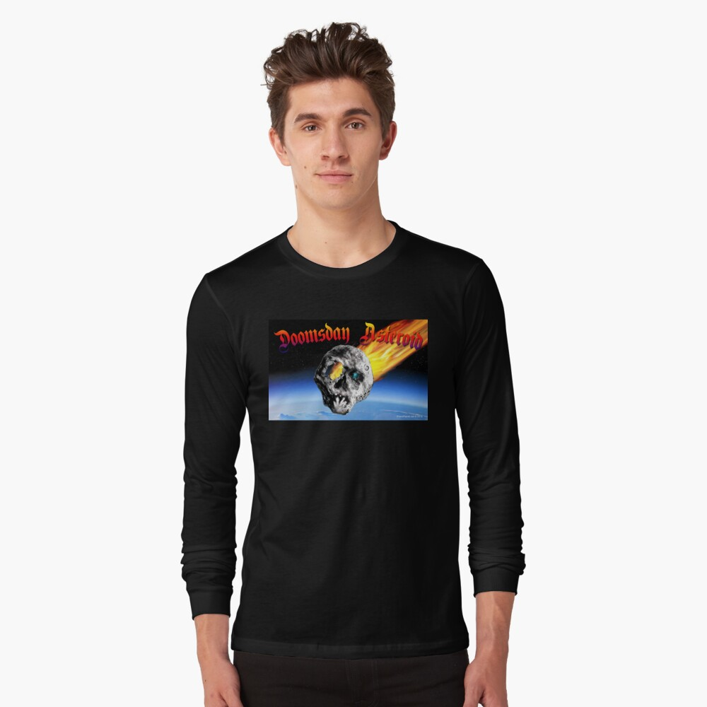 Doomsday Asteroid Long Sleeve T-Shirt Front