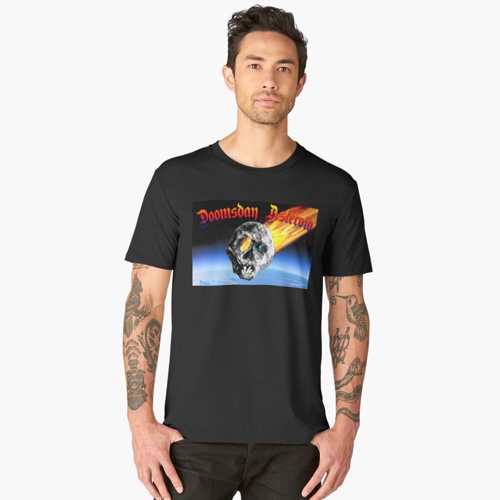 Doomsday Asteroid Men's Premium T-Shirt Front