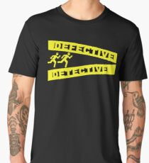 Defective Detective Crime Tape for Murderinos Men's Premium T-Shirt