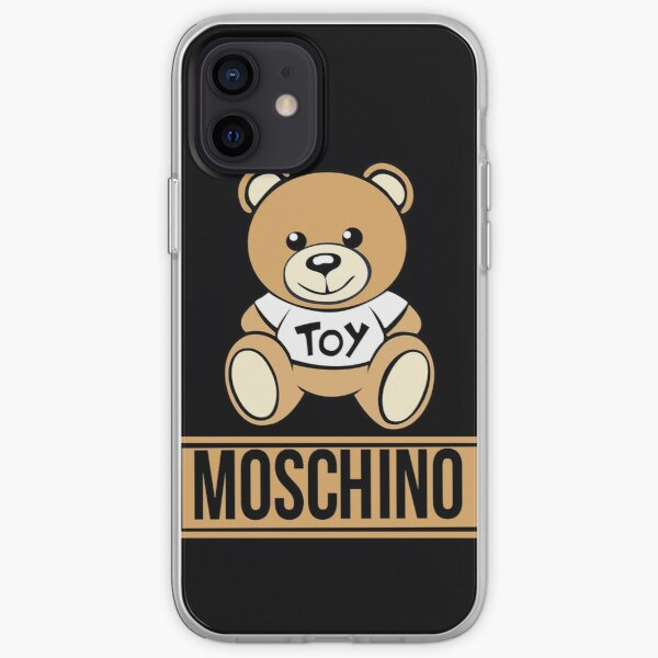 moschino bear iPhone Soft Case